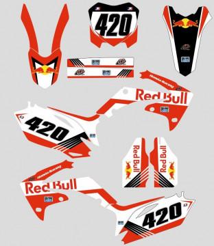 Kit Autocolantes Para HONDA CRF 250 10-13