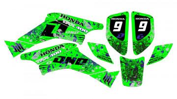 Kit Autocolantes Para HONDA TRX 400 99-07