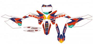 Kit Autocolantes Para Moto  - KTM SX / MX 13-15