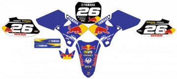 Kit Autocolantes Para Moto - Yamaha YZF 250 / 400 / 426 98-02