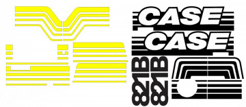 Kit de Autocolantes para CASE 821B