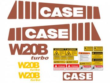 Kit de Autocolantes para CASE W20B