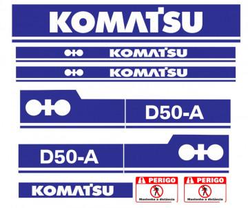 Kit de Autocolantes para KOMATSU D50-A