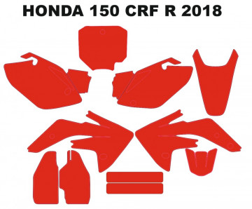 Molde - HONDA 150 CRF R 2018