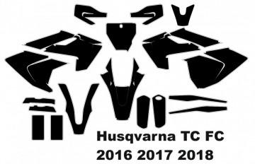 Molde - Husqvarna TC FC MX Motocross 2016 2017 2018