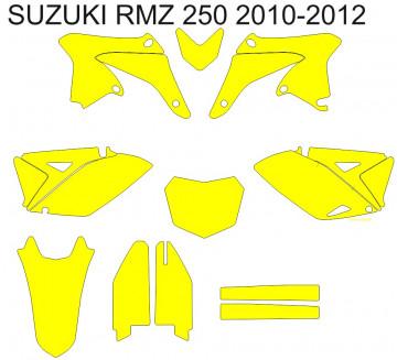 Molde - Suzuki RMZ 250 2010 2011 2012 2013 2014