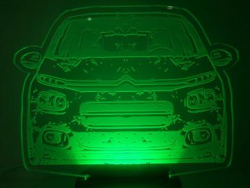 Moldura / Candeeiro com luz de presença - Citroen C3