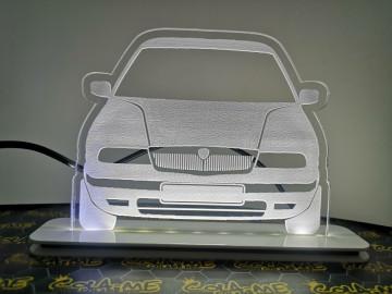 Moldura / Candeeiro com luz de presença - Lancia Kappa