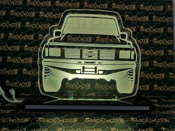 Moldura / Candeeiro com luz de presença - Nissan Patrol