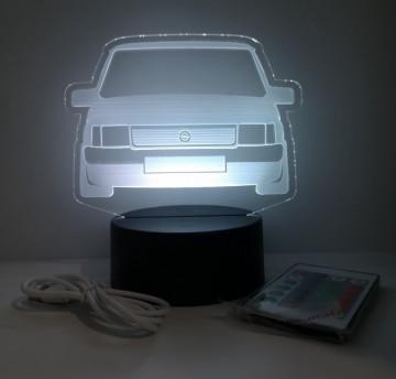 Moldura / Candeeiro com luz de presença - Opel Corsa A