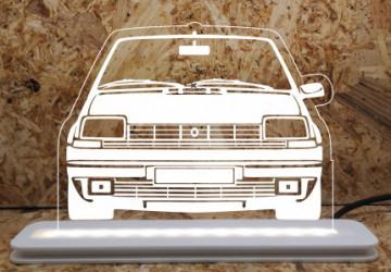 Moldura / Candeeiro com luz de presença - Renault 5
