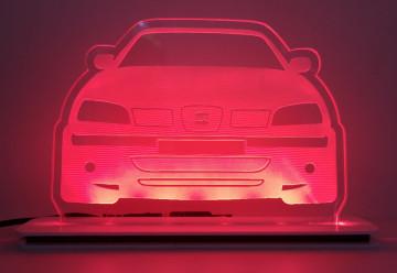 Moldura / Candeeiro com luz de presença - Seat Ibiza 6K2