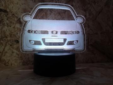 Moldura / Candeeiro com luz de presença - Seat Leon 1M