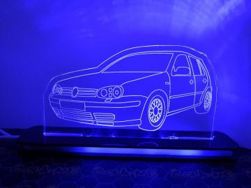 Moldura / Candeeiro com luz de presença - Volkswagen Golf IV