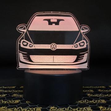 Moldura / Candeeiro com luz de presença - Volkswagen Golf VII