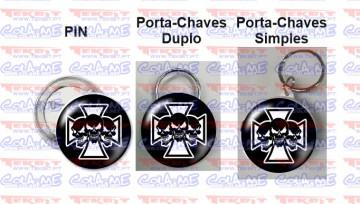 Pin / Porta Chaves - Caveiras