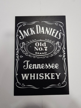 Placa Decorativa em PVC - Jack Daniel´s
