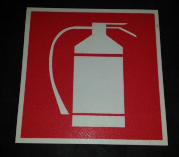 Placa PVC - Extintor