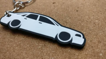 Porta Chaves com silhueta de  Audi A4 B5