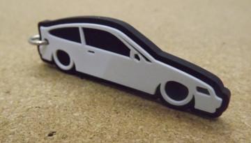 Porta Chaves com silhueta de Honda CRX