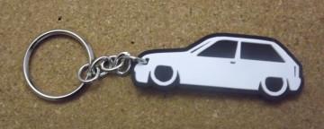 Porta Chaves com silhueta de Opel Corsa A