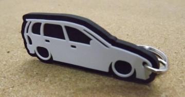 Porta Chaves com silhueta de Opel Corsa B - 5 Portas