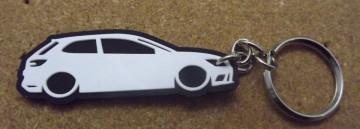 Porta Chaves com silhueta de Seat Ibiza Leon 5F