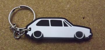 Porta Chaves com silhueta de Volkswagen Golf I / MKI