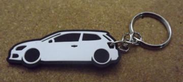 Porta Chaves com silhueta de Volkswagen Polo 6R