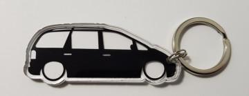 Porta Chaves de Acrílico com silhueta de VW Sharan