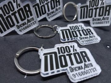 Porta chaves em acrílico -Personalizado com Foto / Logo cedida pelo cliente