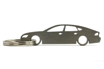 Porta Chaves em inox com silhueta com Audi A7
