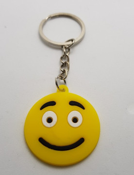 Porta Chaves - Emoji Carinha neutra