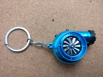 Porta Chaves - Turbo Azul - Electrónico (Recarregável) - Com Isqueiro