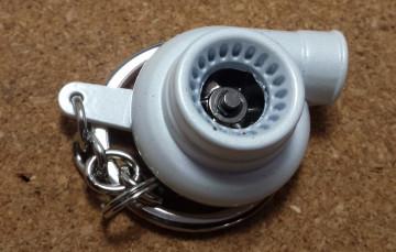 Porta Chaves - Turbo (Funcional) - Branco