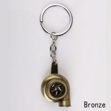 Porta Chaves - Turbo (funcional) - Bronze