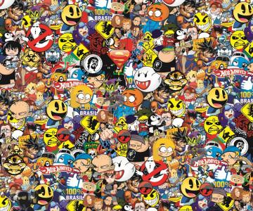 Sticker Bomb - Heróis