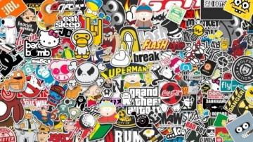 Sticker Bomb - Jogos - 48x32