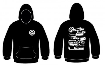 Sweatshirt com capuz com All Volkswagen Golf