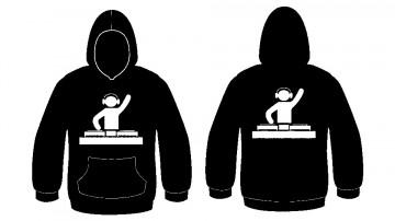 Sweatshirt com capuz - DJ