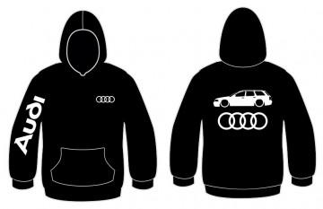 Sweatshirt com capuz para Audi A4 B5 avant