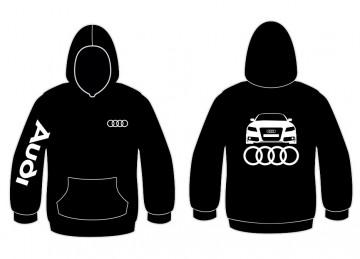 Sweatshirt com capuz para Audi A4 B8