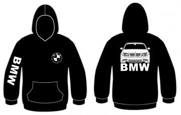 Sweatshirt com capuz para BMW Série 1 E81 E82 E87