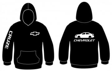 Sweatshirt com capuz para Chevrolet Cruze