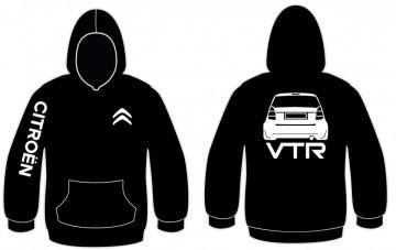 Sweatshirt com capuz para Citroen C2- VTR
