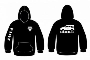 Sweatshirt com capuz para Fiar Doblo