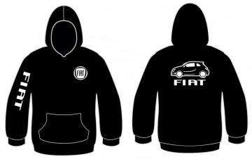 Sweatshirt com capuz para Fiat 500