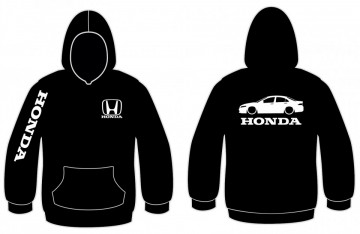 Sweatshirt com capuz para Honda Accord
