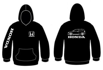 Sweatshirt com capuz para Honda Civic EP3