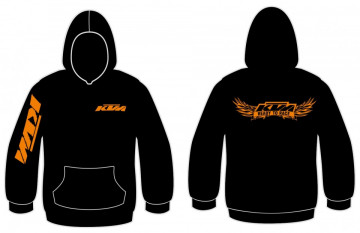 Sweatshirt com capuz para KTM - Ready to race